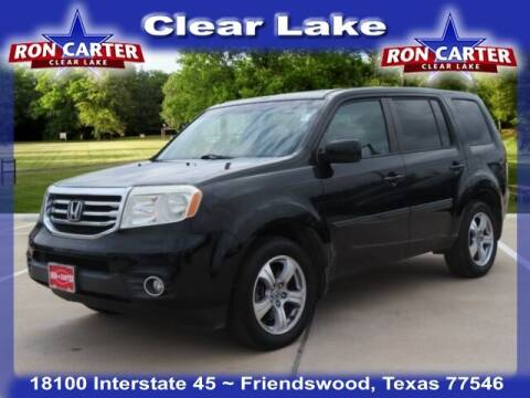 2012 Honda Pilot for sale at Ron Carter  Clear Lake Used Cars in Houston TX
