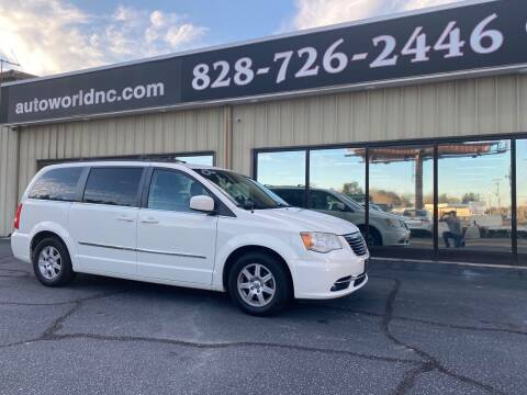 2013 Chrysler Town and Country for sale at AutoWorld of Lenoir in Lenoir NC