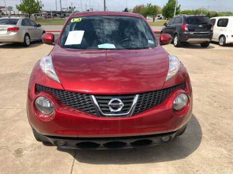 2013 Nissan JUKE for sale at Moore Imports Auto in Moore OK