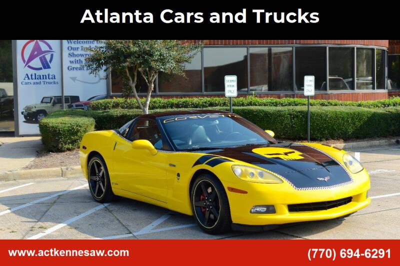 2007 Chevrolet Corvette for sale at Atlanta Cars and Trucks in Kennesaw GA