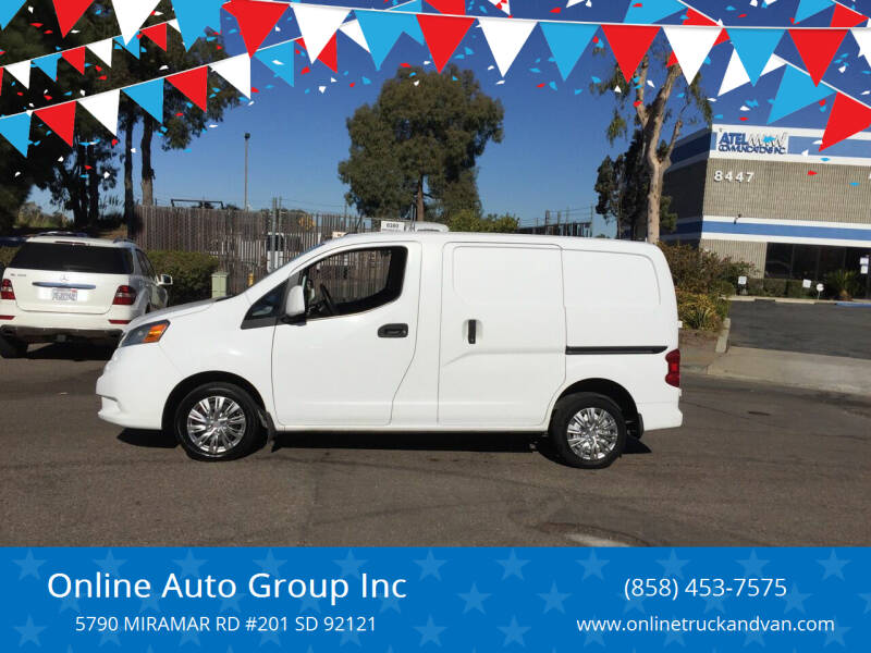 2015 Nissan NV200 for sale at Online Auto Group Inc in San Diego CA