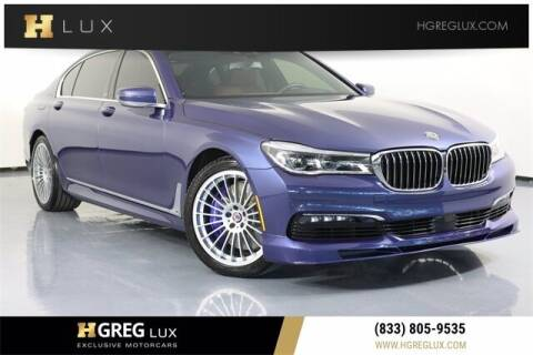 2018 BMW 7 Series for sale at HGREG LUX EXCLUSIVE MOTORCARS in Pompano Beach FL
