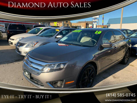 2010 Ford Fusion for sale at Diamond Auto Sales in Milwaukee WI