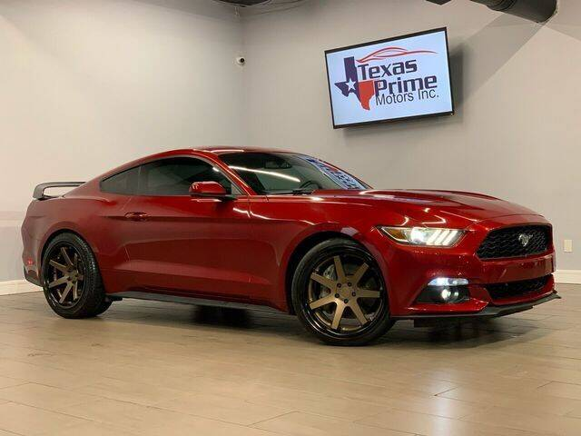 2015 Ford Mustang for sale at Texas Prime Motors in Houston TX