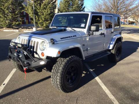 2010 Jeep Wrangler Unlimited for sale at Bromax Auto Sales in South River NJ