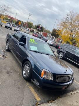2002 Cadillac DeVille for sale at Zs Auto Sales in Kenosha WI