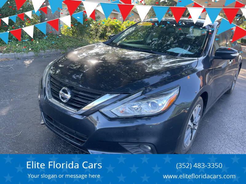 2017 Nissan Altima for sale at Elite Florida Cars in Tavares FL