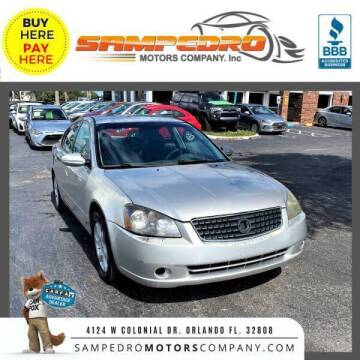 2005 Nissan Altima for sale at SAMPEDRO MOTORS COMPANY INC in Orlando FL