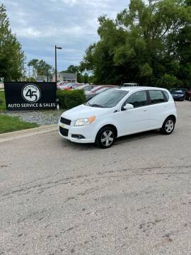 2011 Chevrolet Aveo for sale at Station 45 Auto Sales Inc in Allendale MI