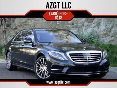 2017 Mercedes-Benz S-Class for sale at AZGT LLC in Phoenix AZ