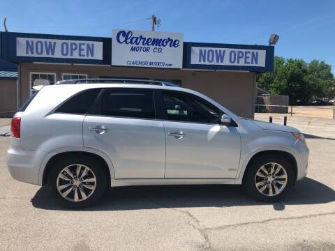 2011 Kia Sorento for sale at Claremore Motor Company in Claremore OK
