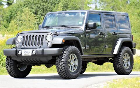 2017 Jeep Wrangler Unlimited for sale at Miers Motorsports in Hampstead NH