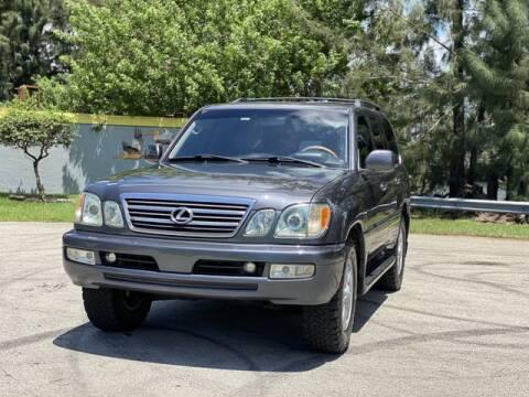 2005 Lexus LX 470 for sale at Exclusive Impex Inc in Davie FL