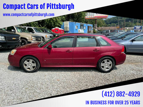 2007 Chevrolet Malibu Maxx for sale at Compact Cars of Pittsburgh in Pittsburgh PA