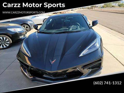 2021 Chevrolet Corvette for sale at Carzz Motor Sports in Fountain Hills AZ