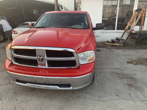 2012 RAM Ram Pickup 1500 for sale at BULLSEYE MOTORS INC in New Braunfels TX