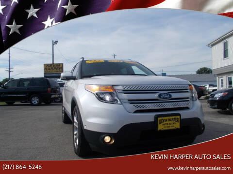 2012 Ford Explorer for sale at Kevin Harper Auto Sales in Mount Zion IL