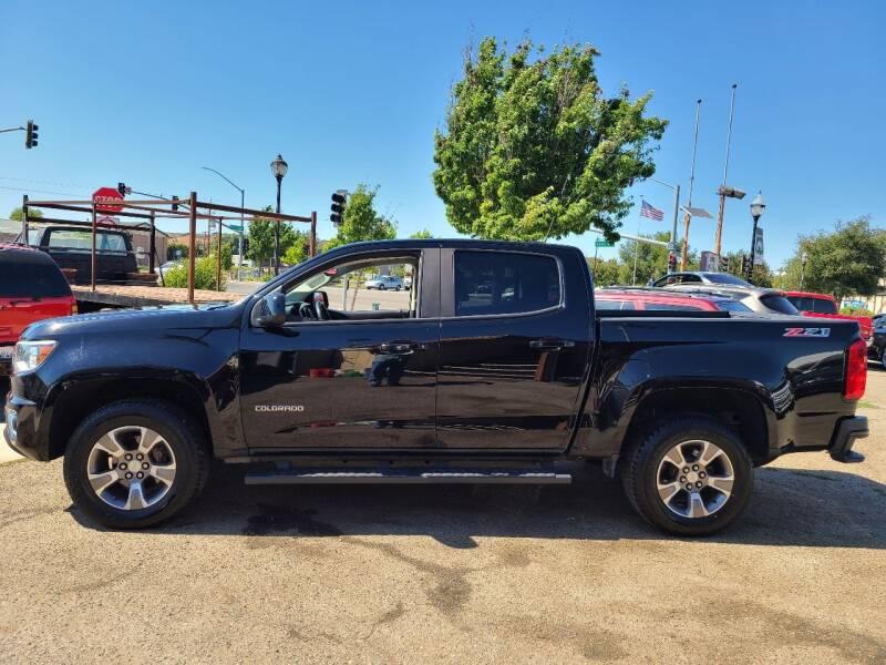 2017 Chevrolet Colorado for sale at Coast Auto Sales in Buellton CA