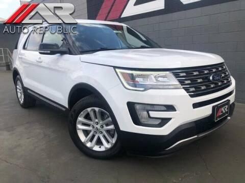 2017 Ford Explorer for sale at Auto Republic Fullerton in Fullerton CA