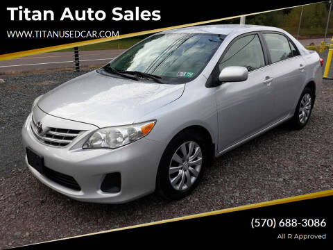 2013 Toyota Corolla for sale at Titan Auto Sales in Berwick PA