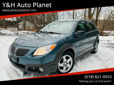 2006 Pontiac Vibe for sale at Y&H Auto Planet in West Sand Lake NY