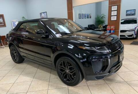 2017 Land Rover Range Rover Evoque Convertible for sale at Adams Auto Group Inc. in Charlotte NC