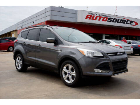 2013 Ford Escape for sale at Sand Springs Auto Source in Sand Springs OK
