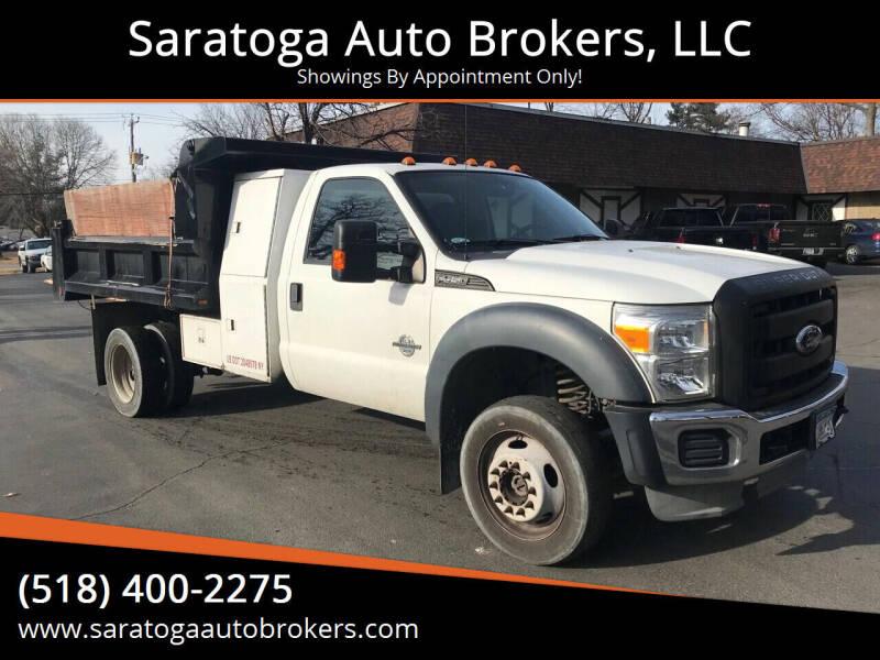 2011 Ford F-450 Super Duty for sale at Saratoga Auto Brokers, LLC in Wilton NY