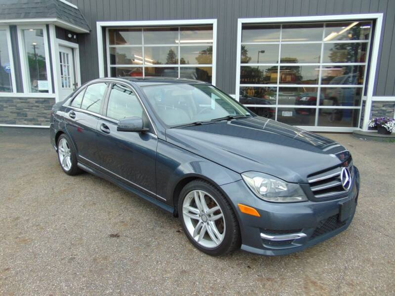 2014 Mercedes-Benz C-Class for sale at Akron Auto Sales in Akron OH