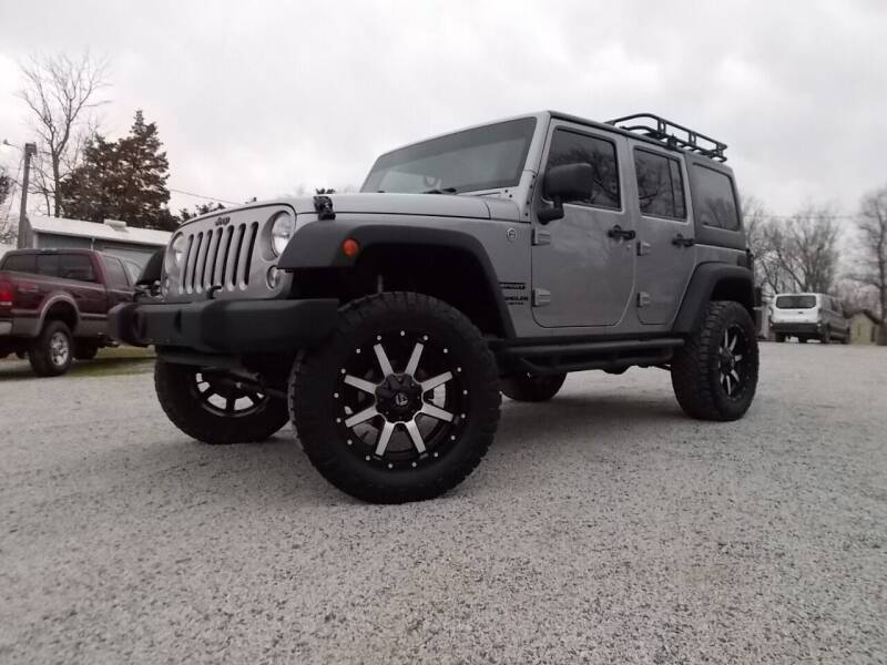2014 Jeep Wrangler Unlimited for sale at Carolina Auto Sales in Trinity NC