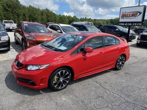2013 Honda Civic for sale at Billy Ballew Motorsports in Dawsonville GA