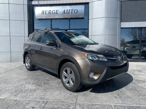 2015 Toyota RAV4 for sale at Berge Auto in Orem UT