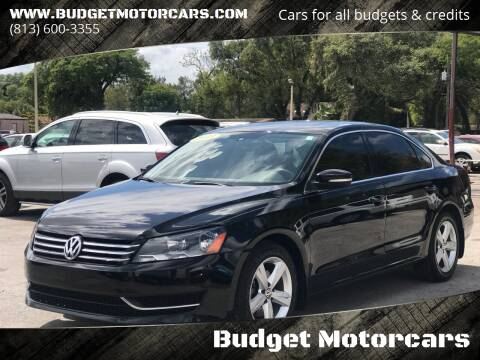 2013 Volkswagen Passat for sale at Budget Motorcars in Tampa FL