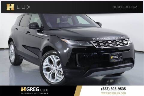 2020 Land Rover Range Rover Evoque for sale at HGREG LUX EXCLUSIVE MOTORCARS in Pompano Beach FL