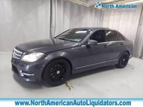 2014 Mercedes-Benz C-Class for sale at North American Auto Liquidators in Essington PA