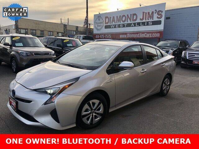 2018 Toyota Prius for sale at Diamond Jim's West Allis in West Allis WI