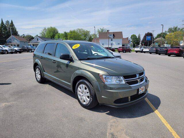 2017 Dodge Journey for sale at Frenchie's Chevrolet and Selects in Massena NY