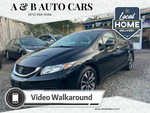 2013 Honda Civic for sale at A & B Auto Cars in Newark NJ