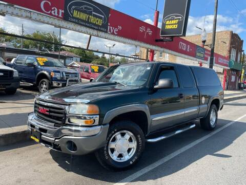 2004 GMC Sierra 1500 for sale at Manny Trucks in Chicago IL