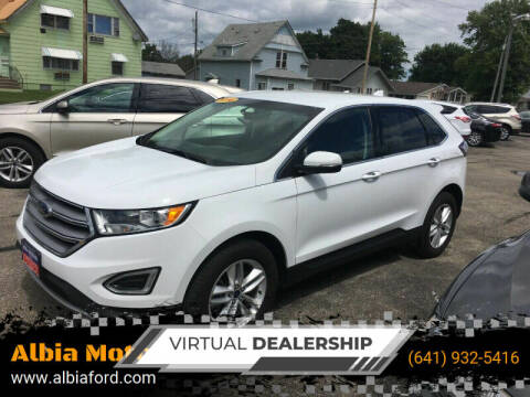 2016 Ford Edge for sale at Albia Motor Co in Albia IA