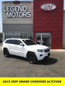 2015 Jeep Grand Cherokee for sale at Legend Motors of Waterford - Legend Motors of Ferndale in Ferndale MI