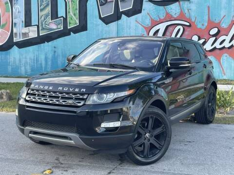 2013 Land Rover Range Rover Evoque for sale at Palermo Motors in Hollywood FL