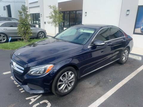 2015 Mercedes-Benz C-Class for sale at Bay City Autosales in Tampa FL