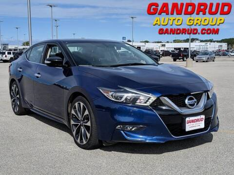 2016 Nissan Maxima for sale at Gandrud Dodge in Green Bay WI