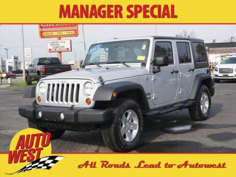 2012 Jeep Wrangler Unlimited for sale at Autowest of GR in Grand Rapids MI