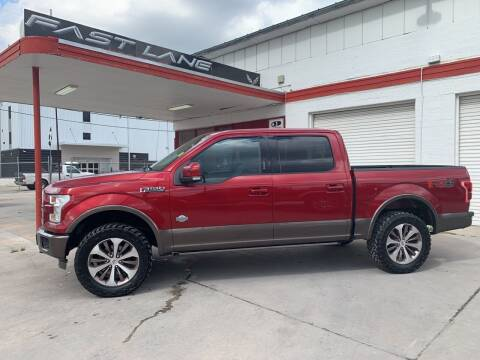 2015 Ford F-150 for sale at FAST LANE AUTO SALES in San Antonio TX