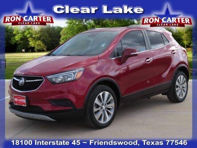 2018 Buick Encore for sale at Ron Carter  Clear Lake Used Cars in Houston TX