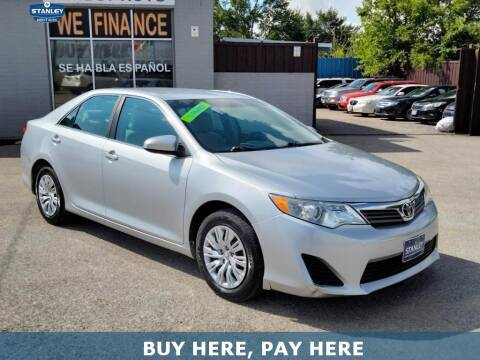 2012 Toyota Camry for sale at Stanley Direct Auto in Mesquite TX