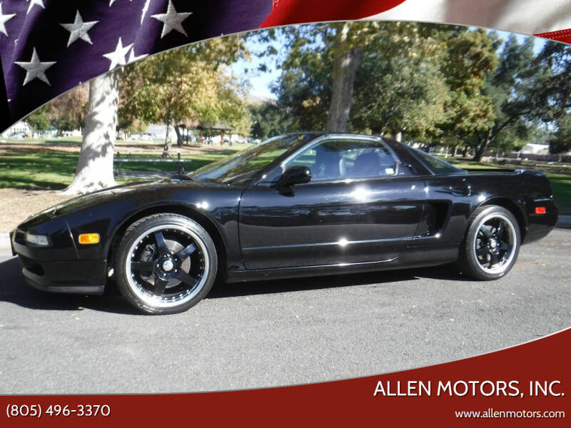 1993 Acura NSX for sale at Allen Motors, Inc. in Thousand Oaks CA