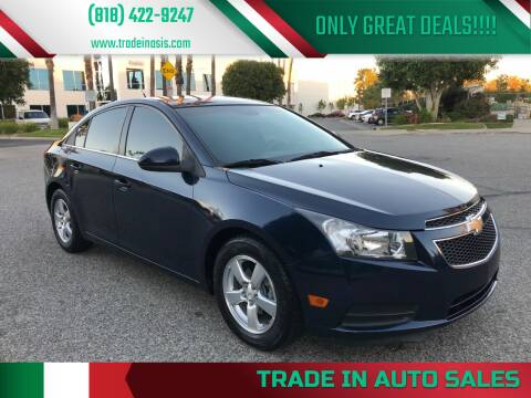 2011 Chevrolet Cruze for sale at Trade In Auto Sales in Van Nuys CA